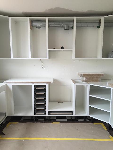 Bygga nytt kök