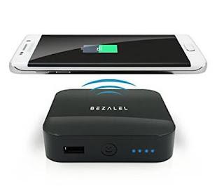 Bezalel Latitude iPhone 6 Wireless Charging Case & Portable Wireless Charger