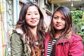 Suloxchana Tamang and Trishala Gurung