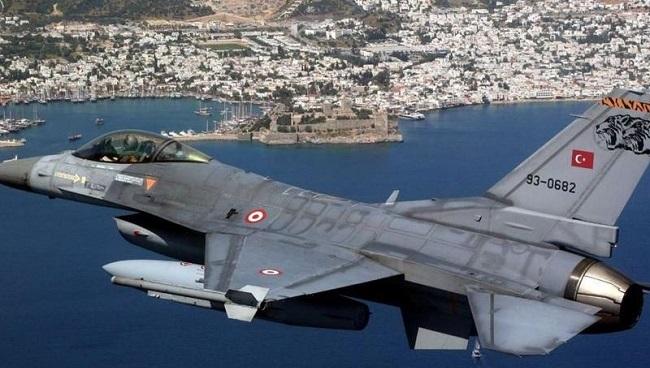 Τουρκικά μαχητικά πέταξαν πάνω από Στρογγύλη, Καστελόριζο και Ρω