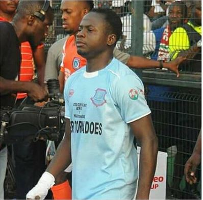 Nigerian Footballer Killed In Accident 2 Months After His Wedding