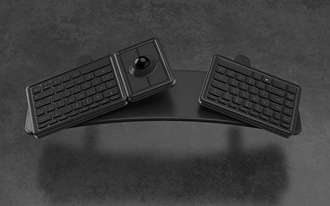 Unik, Keyboard Ini Sanggup Dipakai Kerja Sambil Untuk Bergaya_
