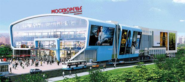 Рынки и торговые центры  ТРК «Москворечье» e372195ef99