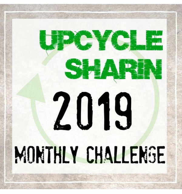 Upcycle Sharin Facebook Group Monthly Challenge