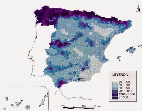 Mapa de Isoyetas