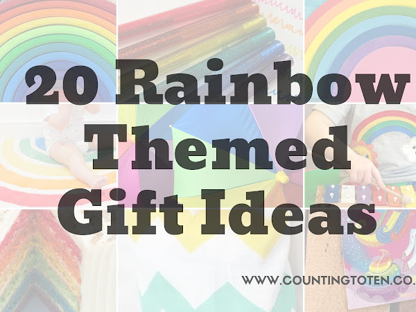 Rainbow Themed Gift Guide for Newborns to Adults