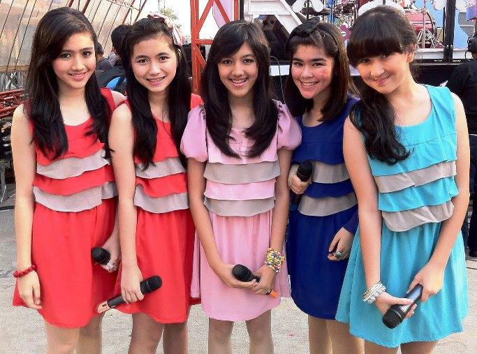Video Klip Sejuta Rasanya Blink Indonesia Girlband