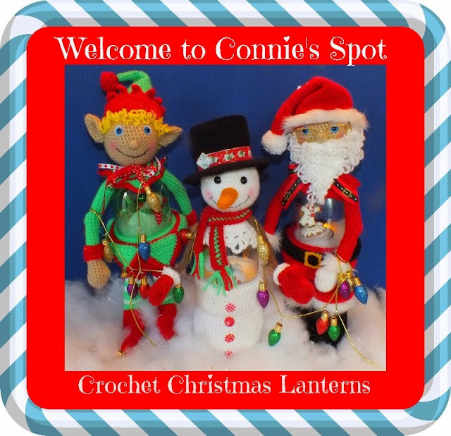 Crochet Soda Pop Bottle Christmas Lantern Patterns©