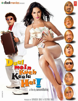 Poster Of Bollywood Movie Daal Mein kuch kaala hai (2012) 300MB Compressed Small Size Pc Movie Free Download worldfree4u.com