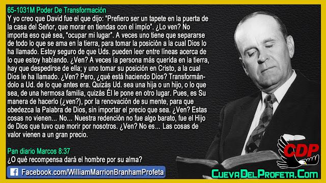 La posición a la cual Dios nos ha llamado - Citas William Branham Mensajes