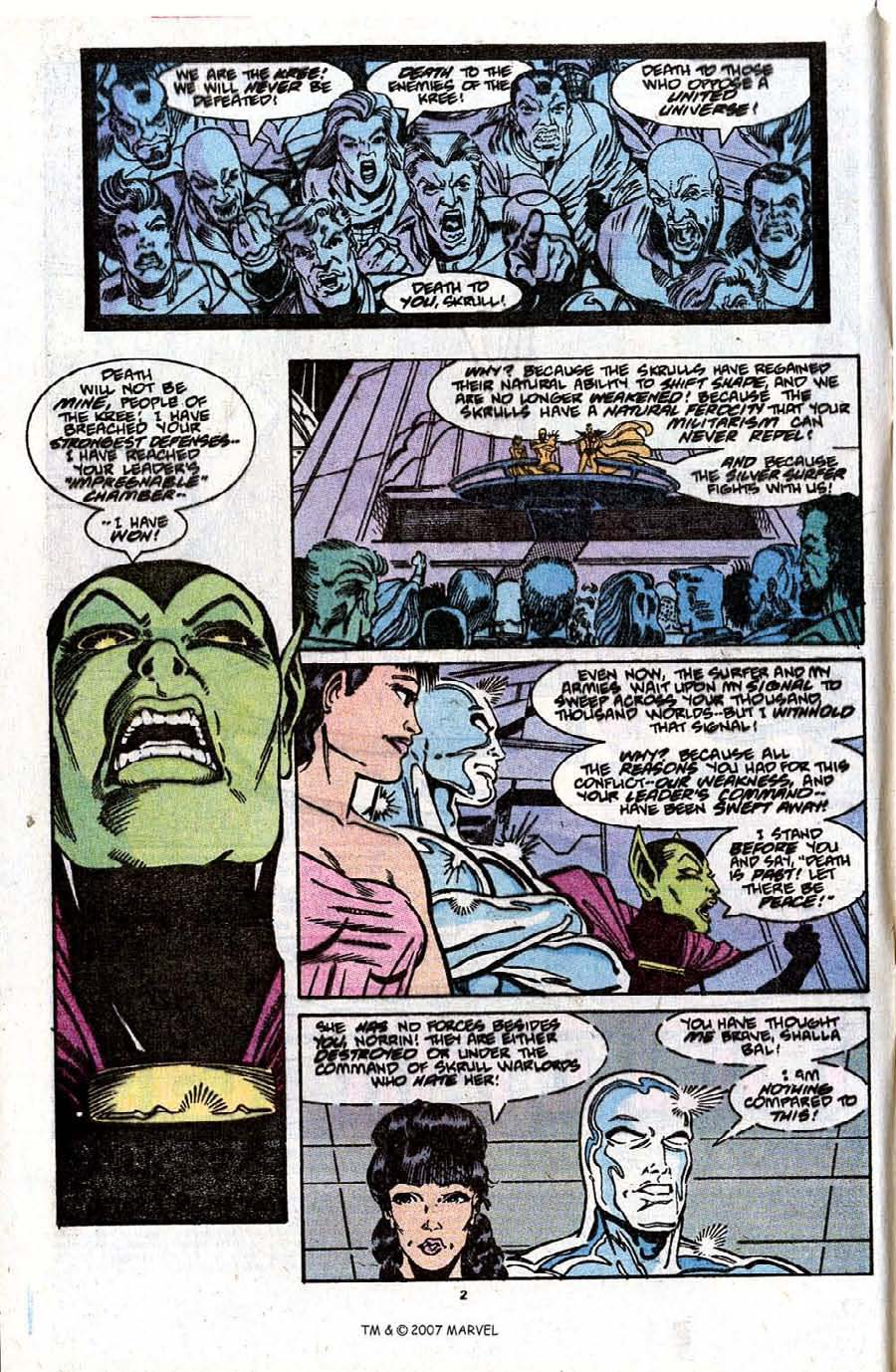 Read online Silver Surfer (1987) comic -  Issue #31 - 4