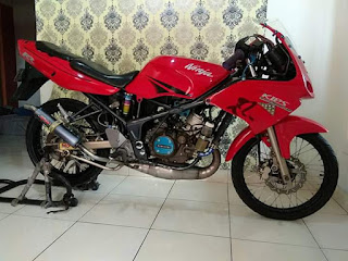 Dijual Ninja RR Super Kips 2008 plt Bekasi