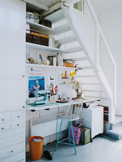 10 ideas to take advantage of the stairwell 7