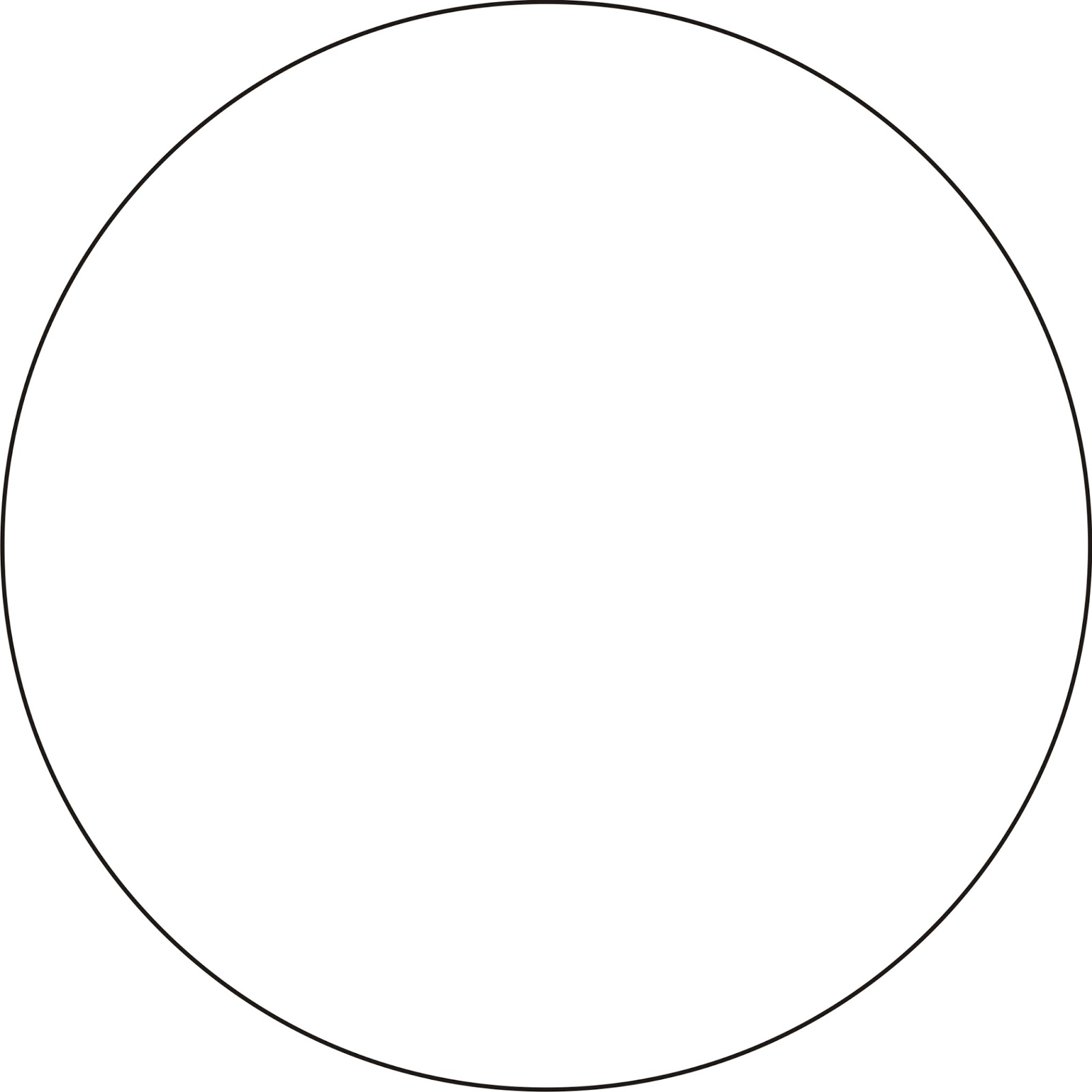 Circle template images reverse search for 9 inch circle template