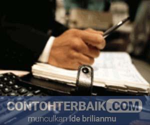 Contoh Jurnal Akuntansi