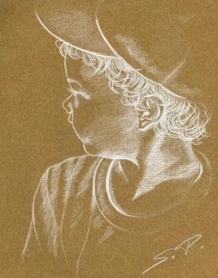 portrait little boy_Susan Perez