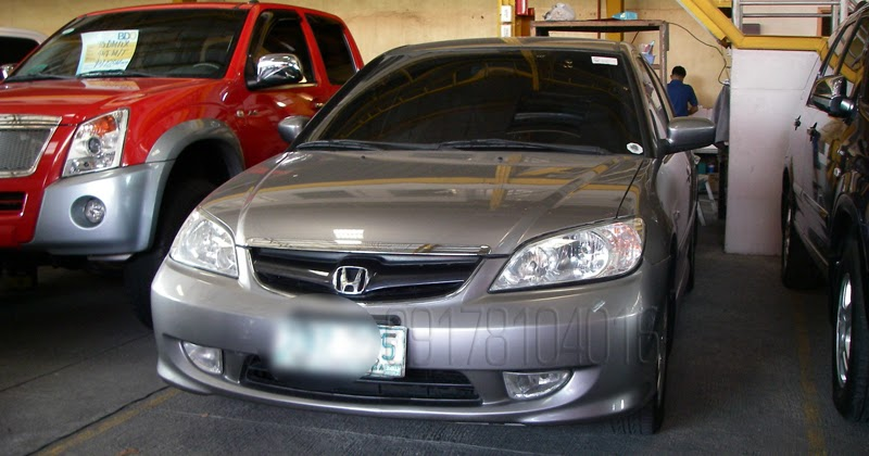 Auto Gauge For Sale Philippines: Cars For Sale In The Philippines: 2004 Honda Civic VTi-S
