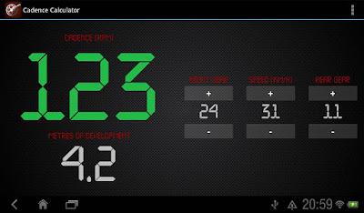 Cadence Calculator