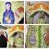 Με πράσινα χρυσάνθεμα και πέρλες ο εντυπωσιακός επιτάφιος του Αγιου Βασιλείου