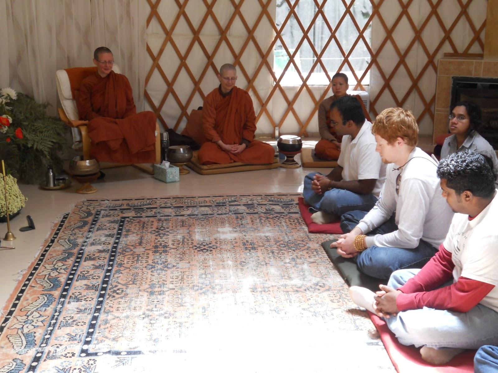 Aranya Bodhi Awakening Forest Hermitage: Reply to