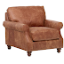Stone and Beam Charles Classic Oversized Leather Chair