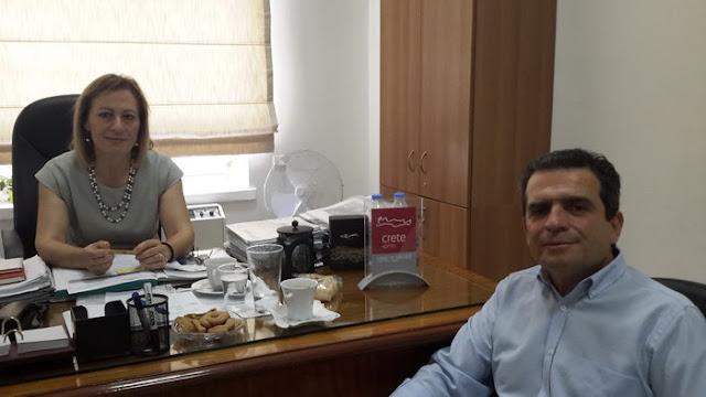 Συνεργασία Περιφέρειας Αν. Μακεδονίας - Θράκης και Κρήτης για θέματα πρωτογενή τομέα