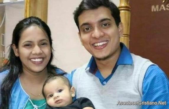 Pastor y esposa en India