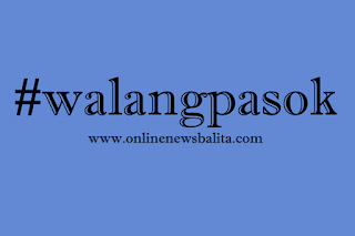 #walangpasok: Class Suspensions for August 13, 2016