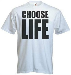 Wham Choose Life T-Shirt