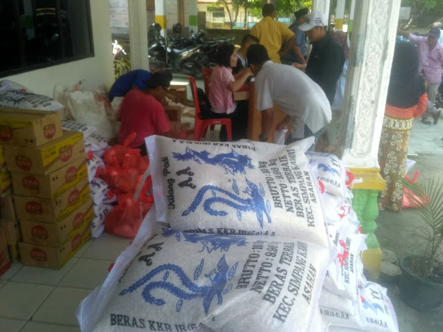 Program pasar murah yang digelar Pemko Tanjungbalai.