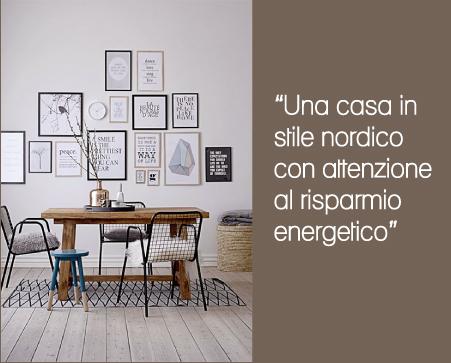 Stile nordico in casa dai piccoli oggetti al risparmio - Risparmio energetico casa ...