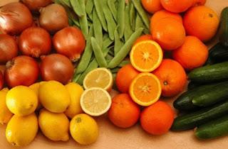 Buah dan sayur untuk kesehatan mata