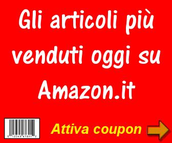 Articoli più venduti oggi su Amazon
