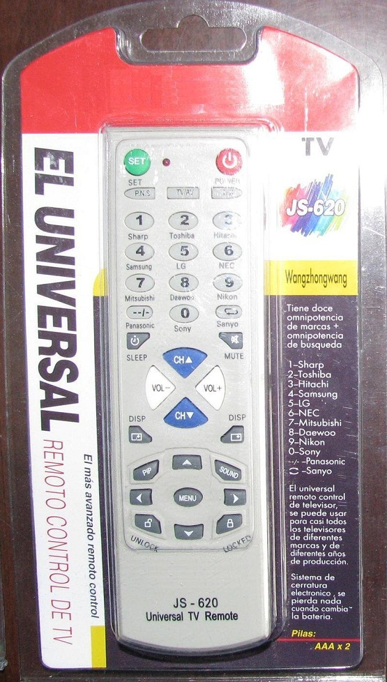 Cara Setting Remote TV Universal dan Kode Remote