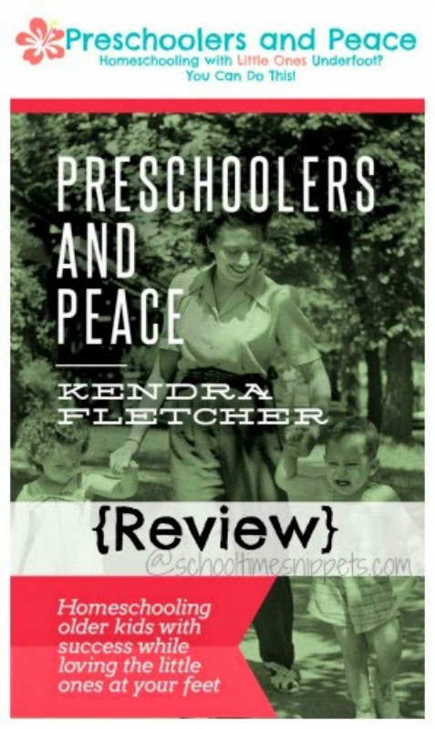 Preschoolers and Peace eBook Review from School Time Snippets