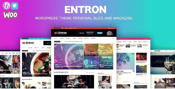 Entron Wordpress Teması