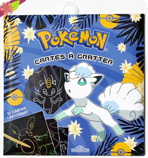 Mes Cartes à gratter - Pokémon - Les livres du Dragon d'Or