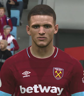 PES 2017 Faces Declan Rice by ABW_FaceEdit
