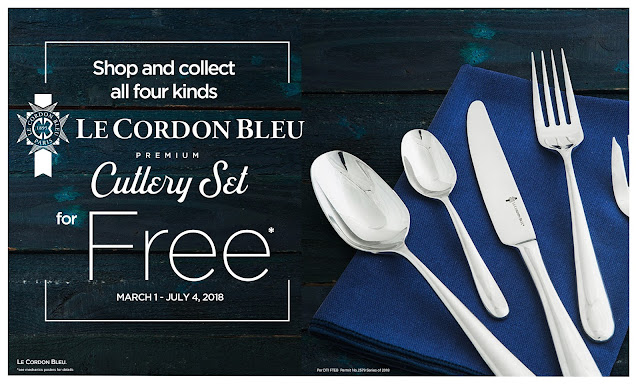 Le Cordon Bleu Premium Cutlery Set in Rustan's