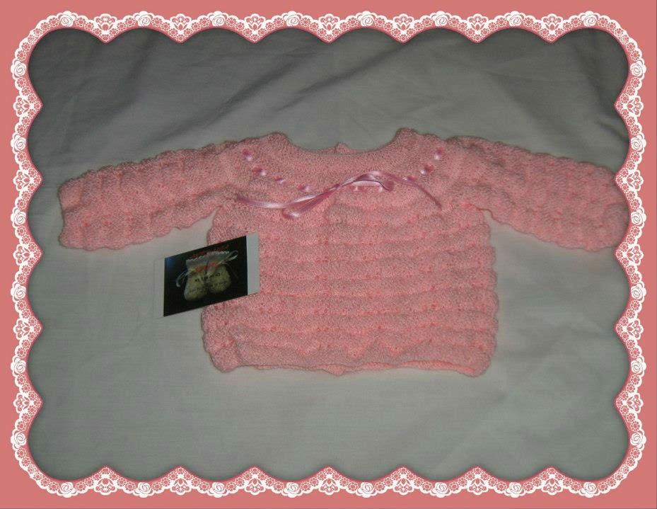 Jersey bebé en rosa