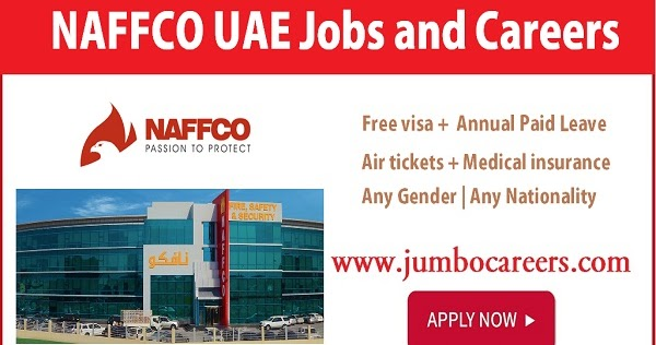 Fire and Safety Jobs at NAFFCO UAE with Free Visa Air Tickets