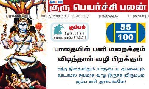 Kumbam rasi - Guru peyarchi palangal: (2.08.16 Mudhal 2.09.17 varai) - kumba rasi palan in tamil - Guru peyarchi 2016 to 2017