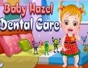 Baby Hazel higiene dental
