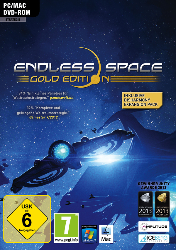 Endless Space Gold Download Cover Free Game