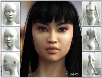 EJ Ethnic Beauties for Genesis 8 Female