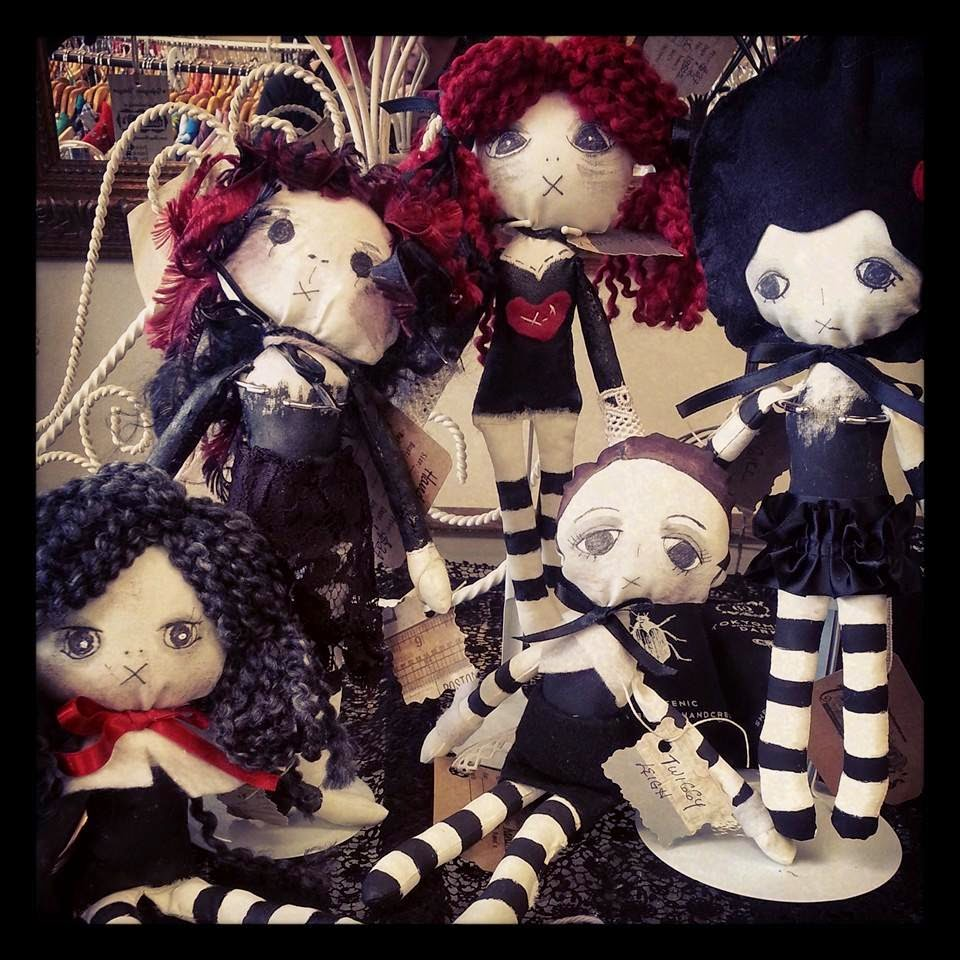 Cloth Dolls by Karen