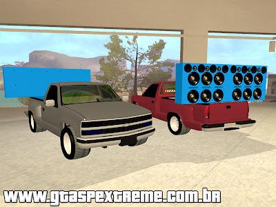 Chevrolet Silverado Comanda Som para GTA San Andreas