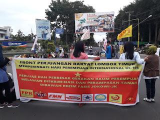 Perluas dan Perbesar Gerakan Perempuan Melawan Diskriminasi dan Perampasan Tanah