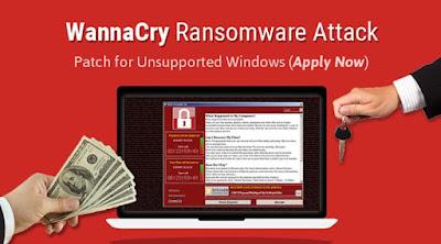 Penting ! Cara Menghindari Serangan Virus dan Malware Ransomware Wanna Cry