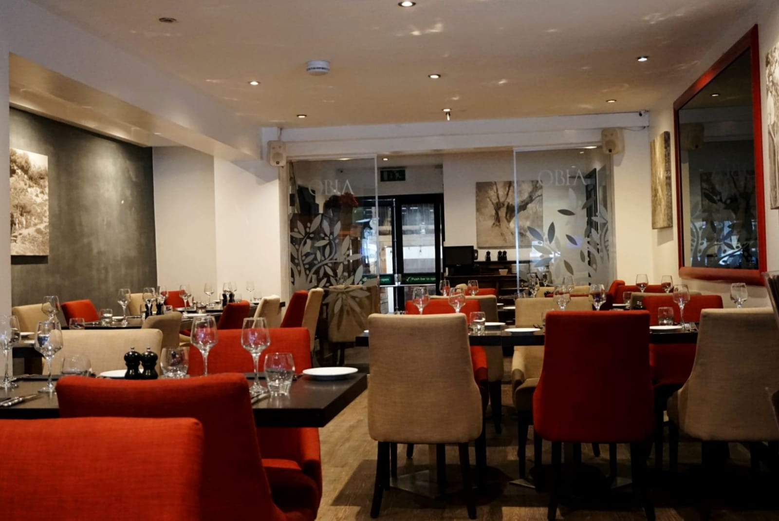 EXCLUSIVE : AT THE EXECUTIVE CHEFS TABLE PAOLO SABA AT THE OBIA RESTAURANT IN PURLEY